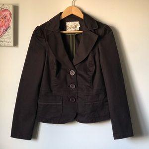 Dynamite brown blazer - size Medium